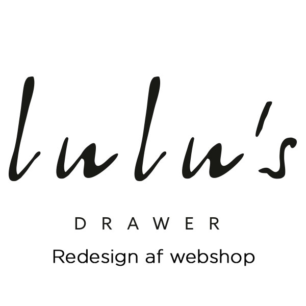 Redesign af webshop for lulu's drawer